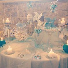"12 Likes, 1 Comments - Chichi Atelier (@chichiatelier) on Instagram: ""#confettata #battesimo #allestimentobattesimo #festa #babyparty #party #azzuro #baby #bebè…"""