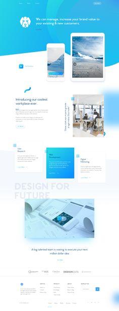 02 agency homepage design | SEE: https://www.pinterest.com/pin/672303050596358184/