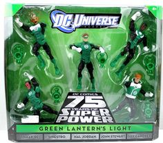 DC Universe Classics 5-pack GREEN LANTERN'S LIGHT 75 Years Action Figure Set #DCDirect