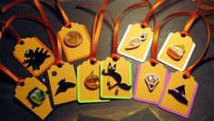 Halloween Tags - Quilled Creations Quilling Gallery