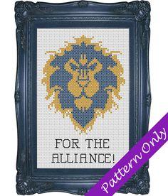 For the Alliance Alliance Symbol Cross Stitch Pattern by SFStitch, $5.00