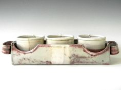 Modern Rustic Porcelain Hand Built Serving Tray