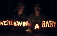 McFly's Tom Fletcher, wife announce baby via pumpkins on YouTube