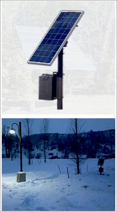 What powers a solar street light? The same thing that starts cars every day....rechargeable batteries!