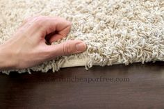 The Fun Cheap or Free Queen: Savvy Saturday projects: Make your own area rug out of remnant carpet + carpet binding tips