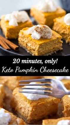 Low Carb Sweets, Low Carb Desserts, Low Carb Recipes, Healthy Recipes, Keto Cheesecake, Pumpkin Cheesecake, Keto Desert Recipes, Keto Dessert Easy, Sugar Free Desserts