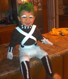 Homemade Toddler Oompa Loompa Costume  sc 1 st  Pinterest & diy toddler oompa loompa costume | Lifeu0027s Sweetest Little Blessings ...