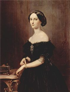 Portrait of a Venetian woman, 1852  Francesco Hayez
