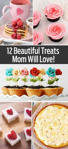 Great desserts, breakfast in bed ideas and more for mom for Mother's Day!