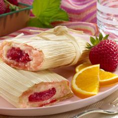 The Sweet Life: Festive Strawberry Tamales - Mamiverse