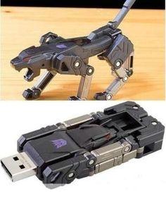 16GB Ravage Transformers USB Stick...okay that would be pretty cool.