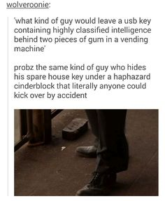 Steve Rogers: The Master of hiding really important things