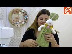 lembrança pascoa - YouTube Baby Patterns, Doll Patterns, Sewing Toys, Sewing Crafts, Diy And Crafts, Crafts For Kids, Doll Videos, Animal Quilts, Mosaic Diy