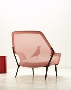 Slow Chair by Ronan & Erwan Bouroullec for Vitra - Design Milk Modern Chaise Lounge Chairs, Modern Armchair, Vitra Design, Chair Design, Modern Furniture, Furniture Design, Outdoor Furniture, Love Chair, Chaise Vintage