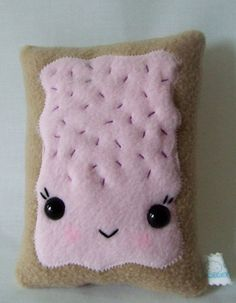 Kawaii Toaster Pastry by MisfitMenagerie on Etsy, $15.00
