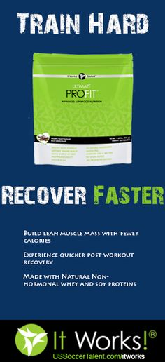 Ultimate ProFit Whey Protein Mix. Order Today to start seeing the difference. #ItWorks