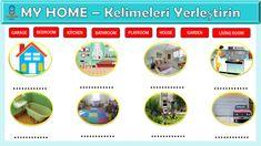 3. Sınıf İngilizce dersi My Home ünitesi etkinliği