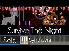 Survive the Night - MandoPony - |SOLO PIANO TUTORIAL w/LYRICS| -- Synthesia HD - YouTube