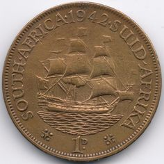 South Africa : 1 Penny 1942
