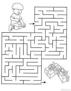 Beginner Mazes – Preschool and Kindergarten