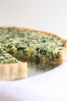 Spinach Quiche Redone | The Fauxmartha