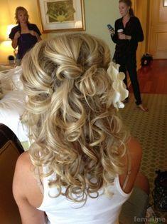 221 wedding hairstyle for medium hair (168)