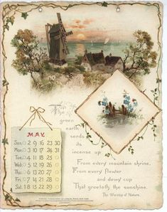 NOBLE THOUGHTS FROM WHITTIER CALENDAR FOR 1897.