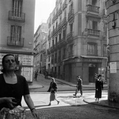 Spain. Arenal Street, Madrid, ca. 1955 // by Cas Oorthuys