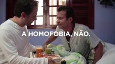 Primeiro comercial com beijo gay da tv brasileira - O amor une, a homofo...