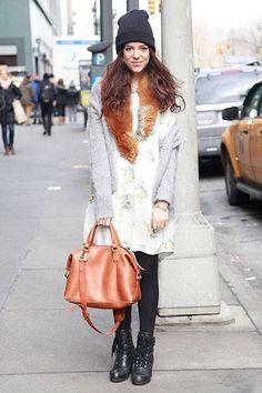 ELLE Editor's Street Chic - Street Style 2014 - Elle