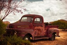 Route 66 Rusty Ford Pick-up