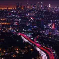 All of the lights: Downtown and its surrounding areas are lit up, some with Christmas trees, in anticipation for the holidays. Many SoCal residents start putting up lights right after Thanksgiving - do you? #NBC4You : @jeffnelson1984