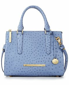 Brahmin Chambray Normandy Anywhere Convertible Satchel Handbags Accessories Macy S