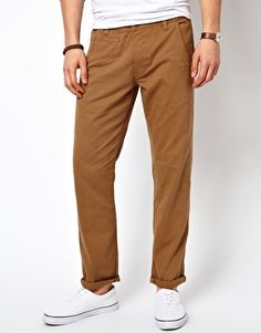 Image 1 ofNew Look Straight Fit Chinos