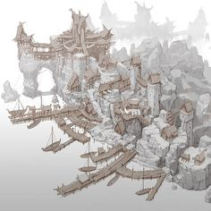 ArtStation – Harbor town, min seub Jung – -… - Mine Minecraft World Fantasy City Map, Fantasy Town, Fantasy World, Fantasy Map Making, Rpg Map, Fantasy Posters, Harbor Town, City Drawing, Fantasy Concept Art