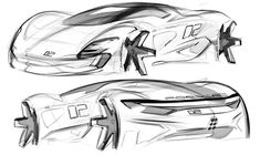 Car design sketches on Behance Car Design Sketch, Car Sketch, Sport Cars, Race Cars, Mexico 2018, Industrial Design Sketch, Real Model, Automotive Design, Auto Design