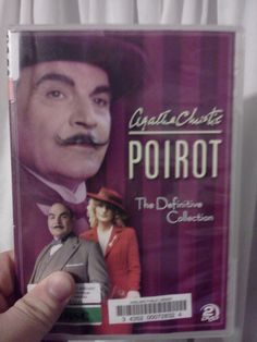 4/22/13 - Hercule Poirot is at the library.  Life is good.  David Suchet is the spitting incarnation of the Belgian sleuth.  I can't wait to jump in.