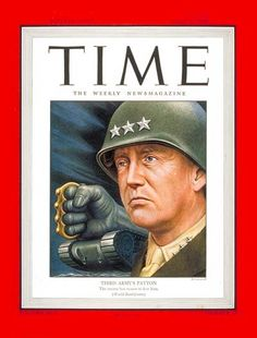 TIME Magazine Cover: Lt. General Patton - Apr. 9, 1945 - George Patton - World War II - Military - Army