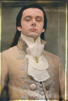 Vampire Volturi leader Aro played by Michael Sheen in Twilight Saga films.