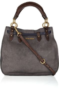 Miu Miu Aviator two tone leather bag: this was made for me.