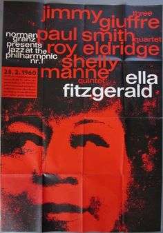 1960 febr.28. Hamburg, Ella Fitzgerald