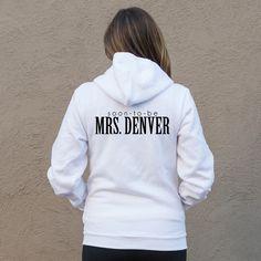 Soon-To-Be Mrs White Hoodie