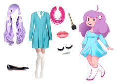 """""""Dream Bee Cosplay"""" by flame-princess-512 ❤ liked on Polyvore featuring TFNC, BaubleBar, Bally, Laura Mercier and bee"""