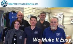 The REALVolkswagenParts.com Team makes buying OEM #VW #parts & Genuine #Volkswagen Accessories as easy as possible. Twitter @UniversityVWM
