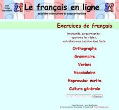 Le français en ligne.