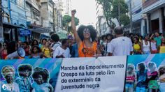 Roughly a week ago, hundreds of African-Brazilian men and women took to the streets to protest against the injustices faced by people of African descent in their country while showcasing the diverse beauty of women of colour by showing their curly hair