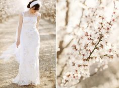 Almond Orchard Wedding Fashion