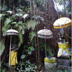 Hanging gardens in Ubud, Bali