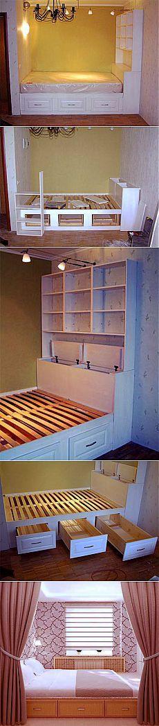 Как сделать кровать — подиум своими руками | Квартирный вопрос