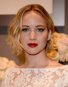 The Best Short Haircuts by Face Shape: Round Face? Try a Long Bob, Parted Down the Middle